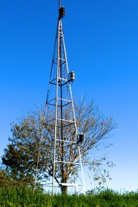 Former Storm Warning Tower, by David W. Dunlap (2012).