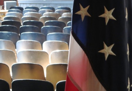 12 Winslow Street, auditorium, by David W. Dunlap (2013).
