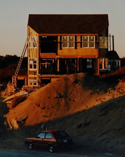 12 Creek Round Hill Road, Provincetown (±1983), by Mary Ahern. Courtesy of Mary Ahern.