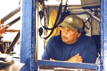 "Anthony L. ""Tony"" Thomas aboard the Blue Ocean. Courtesy of Anthony L. Thomas."