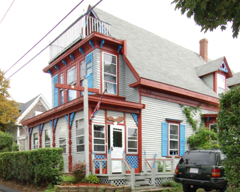 3 Dyer Street, Provincetown (2008), by David W. Dunlap.