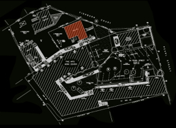 """""""Site Plan, Existing Conditions, 24 Pearl Street, 4 Foshburn Court and 6 Fishburn Court,"""" Prepared for Fine Arts Work Center by Felco, Inc."""
