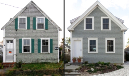 48 Franklin Street, Provincetown (2010 and 2012), by David W. Dunlap.