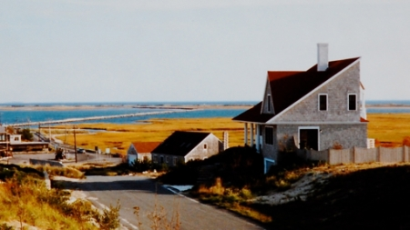 7 Creek Round Hill Road, Provincetown (±1985), by Mary Ahern. Courtesy of Mary Ahern.