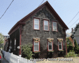 5 Atlantic Avenue, Provincetown (2012). From the Assessor's Online Database.