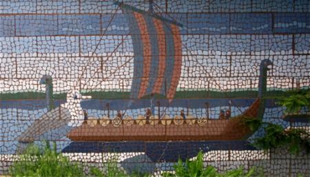 Douglas N. Trumbo Memorial, by Jackson Lambert, Freeman Street, Provincetown (2008), by David W. Dunlap.