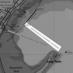 From the Provincetown Harbor Guide map, by Chris Silva, funded by the Provincetown Tourism Fund.