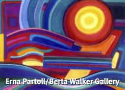 """On the Bridge,"" by Erna Partoll (2002). Berta Walker Gallery."