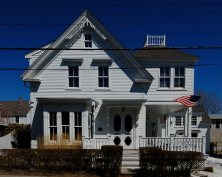 7 Johnson Street, Provincetown (2011), by David W. Dunlap.