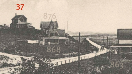 37 Mayflower Avenue, Provincetown (ND). Courtesy of the Provincetown History Preservation Project (Postcard Collection).