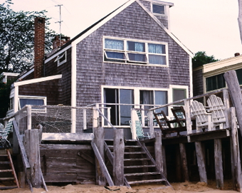 63 Commercial Street, Provincetown (±1973), by Steve Silberman. Courtesy of Steve Silberman.