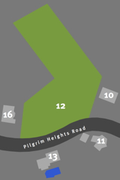 12 Pilgrim Heights Road, Provincetown. Map by David W. Dunlap.
