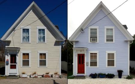 25 Pearl Street, Provincetown (2011, 2012), by David W. Dunlap.