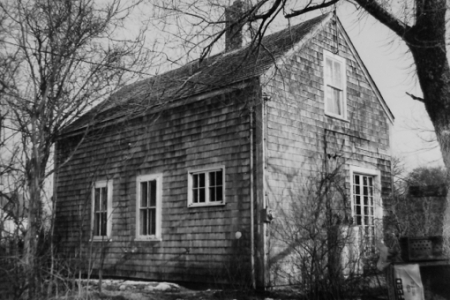 24 Race Road, Provincetown (1977), by Josephine Del Deo. Massachusetts Historical Commission Inventory, 1973-1977: Provincetown's West End. Courtesy of the Provincetown Public Library.
