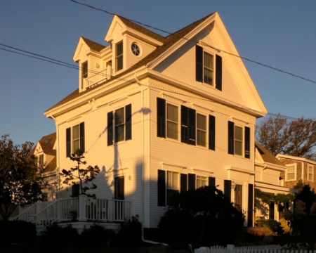 4 Young's Court, Provincetown (2012), by David W. Dunlap.