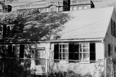 6 Webster Place, Provincetown (1976)by Josephine Del Deo. Massachusetts Historical Commission Inventory, 1973-1977: Provincetown Town Centre. Courtesy of the Provincetown Public Library.