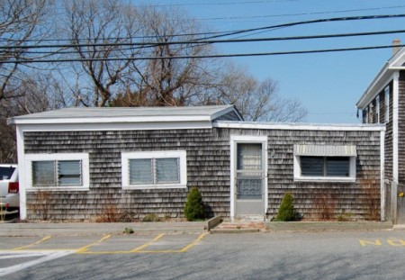 2 Bradford Street, former Mary's Snack Bar, now demolished, by David W. Dunlap (2010).