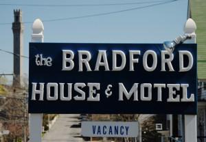 41 Bradford Street, Bradford House & Motel, by David W. Dunlap (2010).