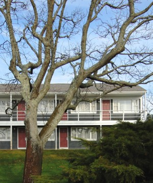 105 Bradford Street Extension, the Chateau Provincetown, by David W. Dunlap (2011).