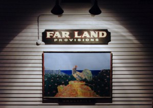 150 Bradford Street, Far Land Provisions, by David W. Dunlap (2011).