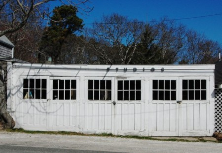 268 Bradford Street, garage and studio, by David W. Dunlap (2011).
