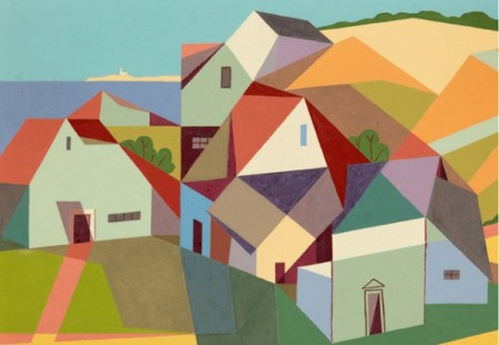 """Untitled (Provincetown,"" by Kenneth Stubbs, courtesy of the Provincetown Art Association and Museum."