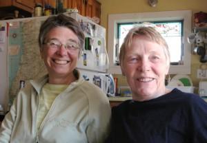 Susan Leonard and Rosemary Hillard, 10 Brewster Street, by David W. Dunlap (2014).