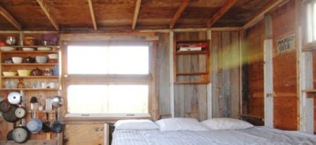 Margo-Gelb shack, by David W. Dunlap (2009).