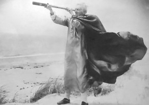 """Poet of the Dune"" (1957), courtesy of Helen and Napi Van Dereck."
