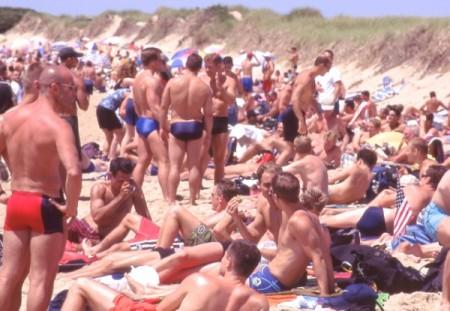 Herring Cove Beach, by David Jarrett (1980s).