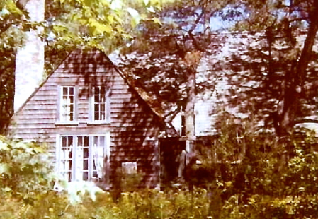 Superintendent's house, Beech Forest, by Nancy Marie Thibeault (1973).