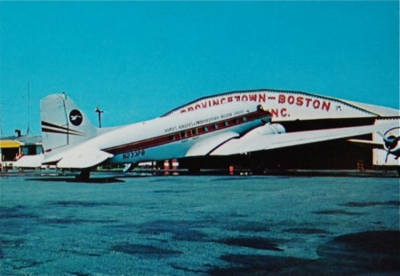 Provincetown Airport, by Hugo Poisson, courtesy of the Pilgrim Monument and Provincetown Museum.