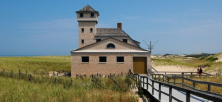 Old Harbor Life-Saving Station Museum, by David W. Dunlap (2009).