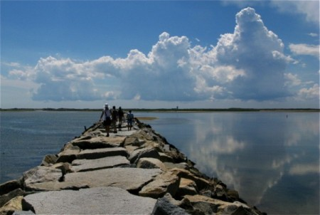 West End Breakwater, by David W. Dunlap (2008).