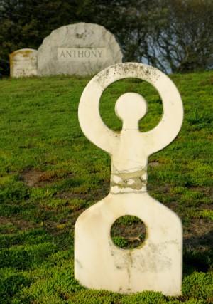 24 Cemetery Street, Town Cemetery, Nanno de Groot grave site, by David W. Dunlap (2008).