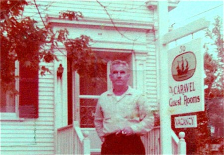David Murphy, 56 Commercial Street, the Caravel Guest House, courtesy of Don Murphy.