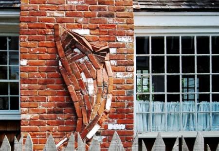 Conrad Malicoat chimney, 64 Commercial Street, by David W. Dunlap (2008).