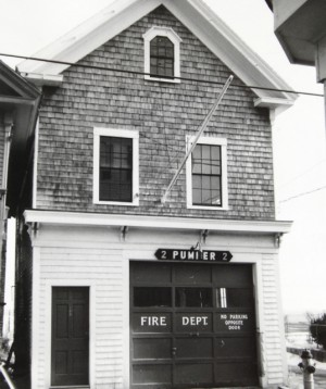 189 Commercial Street, Pumper Company No. 2, by Josephine Del Deo (1976).