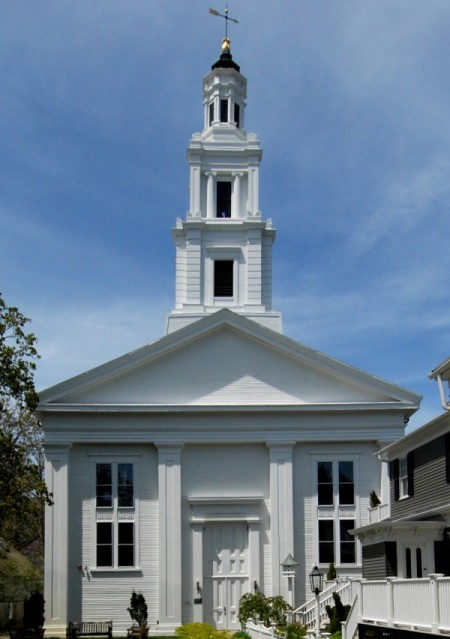 236 Commercial Street, Unitarian Universalist Meeting House, by David W. Dunlap (2008).