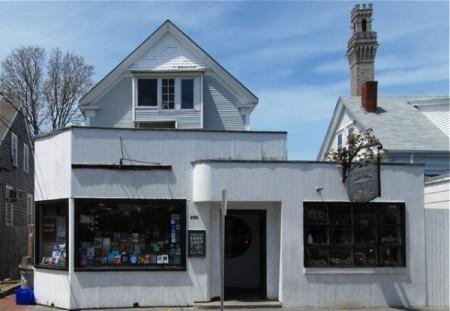 246 Commercial Street, Provincetown Bookshop, by David W. Dunlap (2008).