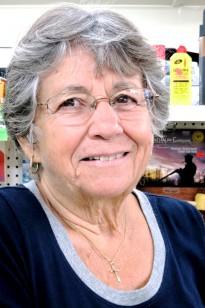 Nancy (Salvador) Stefani at Adams General Store, by David W. Dunlap (2013).