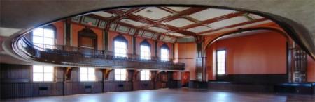 Town Hall auditorium, by David W. Dunlap (2010).