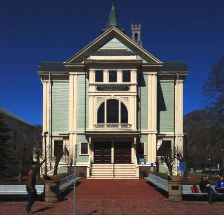 260 Commercial Street, Town Hall, by David W. Dunlap (2011).