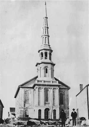 356 Commercial Street, the Center Methodist Episcopal Church (ca 1890), courtesy of the Provincetown History Preservation Project.