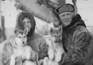 Miriam and Donald MacMillan, courtesy of the Provincetown History Preservation Project.