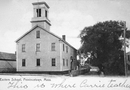 492-494 Commercial Street, Eastern School, courtesy of the Pilgrim Monument and Provincetown Museum.