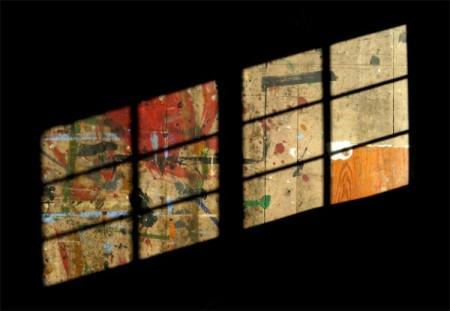 631 Commercial Street, floor of Robert Motherwell's studio, by David W. Dunlap (2012).