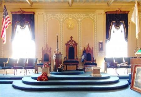 2 Masonic Place, King Hiram's Lodge, by David W. Dunlap (2009).