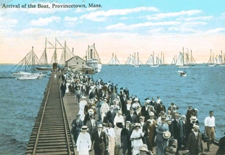 Railroad Wharf, courtesy of the Provincetown History Preservation Project.
