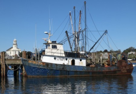 F/V Antonio Jorge, by David W. Dunlap (2012).